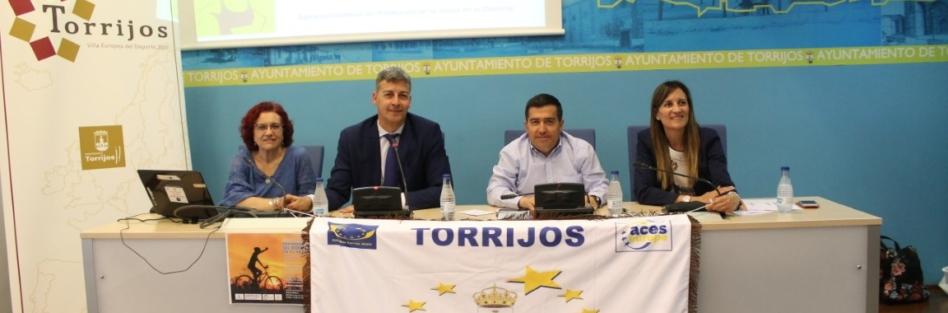 EL AYUNTAMIENTO DE TORRIJOS ACOGE UNA JORNADA DE PREVENCIÓN DEL DOPAJE EN EL DEPORTE