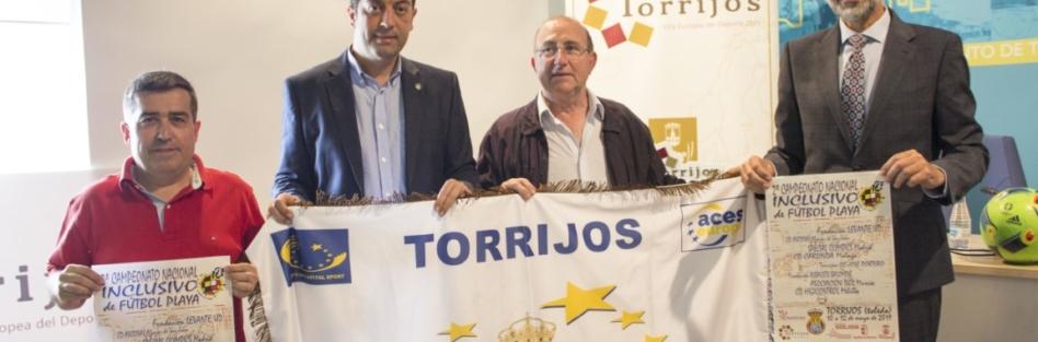 TORRIJOS SE CONVIERTE EN CAPITAL NACIONAL DEL FÚTBOL PLAYA INCLUSIVO DEL 10 AL 12 DE MAYO