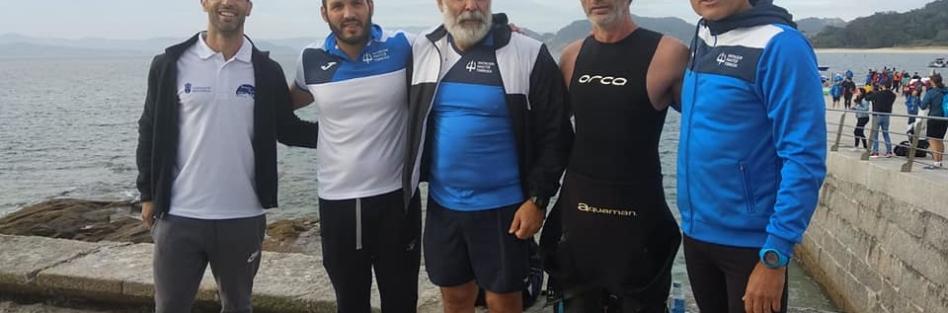CINCO NADADORES DEL CN MÁSTER TORRIJOS CULMINAN LA PRUEBA DE AGUAS ABIERTAS MÁS DURA DE ESPAÑA