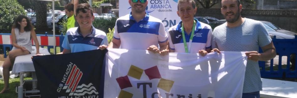 EL CN MÁSTER TORRIJOS AVANZA CON PASO FIRME HACIA SU SEGUNDA COPA DE ESPAÑA DE AGUAS ABIERTAS
