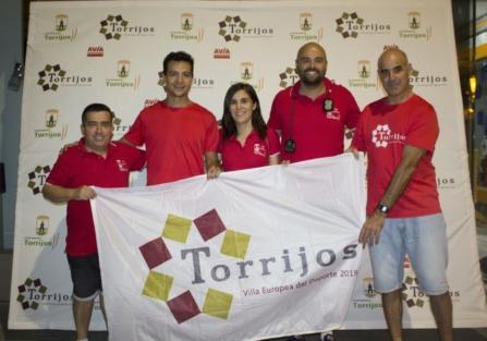 EL ATLETA CHRISTIAN LÓPEZ BATIÓ CON CRECES EN TORRIJOS SUS 4 RÉCORDS GUINESS PROPUESTOS