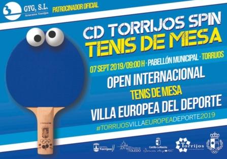 """Open Internacional de Tenis de Mesa """"Villa Europea del Deporte"""""""
