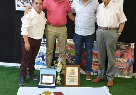 EL CLUB DEPORTIVO TORRIJOS, PREMIADO EN EL DÍA INSTITUCIONAL DEL FÚTBOL DE CASTILLA-LA MANCHA