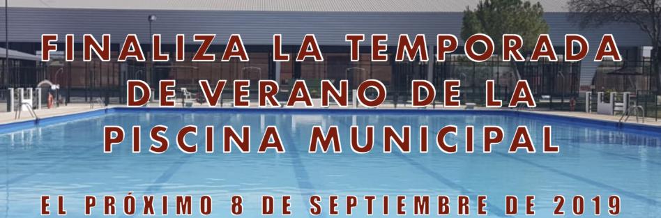 Finaliza la temporada de verano de la piscina municipal