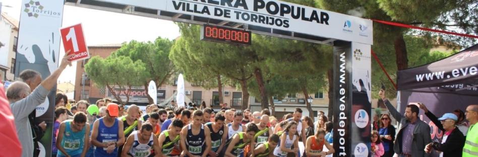 """ALREDEDOR DE 1.600 ATLETAS PARTICIPARON EN LA XII CARRERA POPULAR """"VILLA DE TORRIJOS"""""""