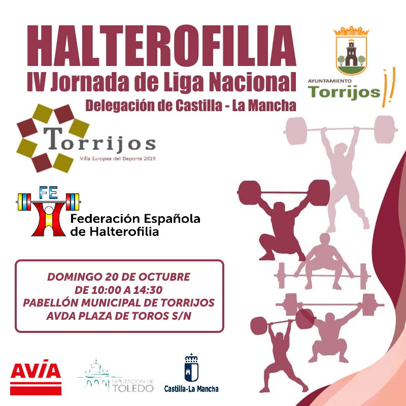 IV JORNADA LIGA NACIONAL (CLM) DE HALTEROFILIA