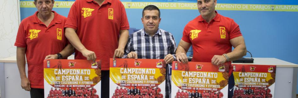 EL CAMPEONATO DE ESPAÑA DE FISICOCULTURISMO Y FITNESS QUE SE CELEBRA EN TORRIJOS ES CLASIFICATORIO PARA EL MS. & MISTER UNIVERSO
