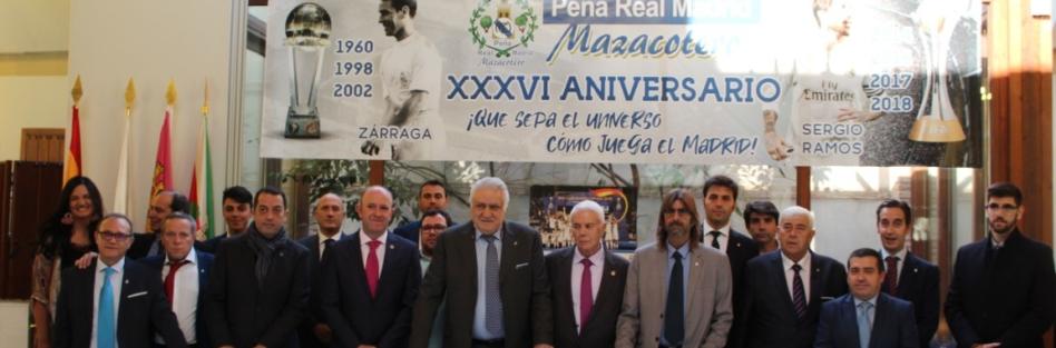 ALREDEDOR DE 300 PERSONAS EN EL XXXVI ANIVERSARIO DE LA PEÑA REAL MADRID MAZACOTERO