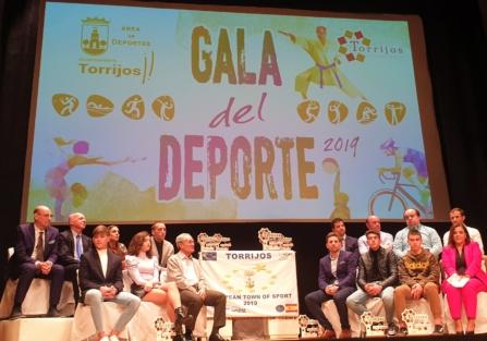 """LA GALA DEL DEPORTE 2019, BROCHE DE ORO DE TORRIJOS """"VILLA EUROPA DEL DEPORTE 2019"""""""