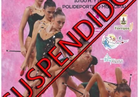 SUSPENDIDO XIII Torneo Nacional de Gimnasia Rítmica