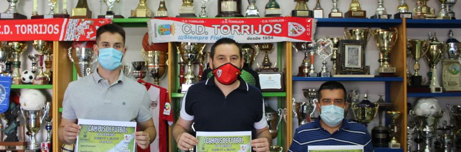 EL CD TORRIJOS CELEBRARÁ SU I CAMPUS DE FÚTBOL DEL 27 DE JULIO AL 28 DE AGOSTO