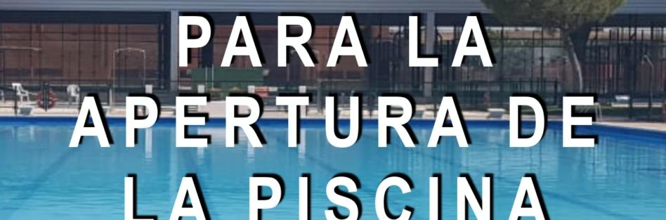 Protocolo de Seguridad e Higiene de la Piscina Municipal de Verano de Torrijos