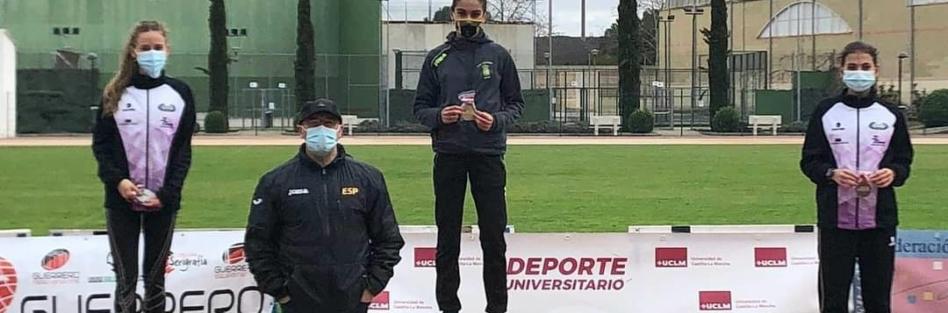LA ATLETA TORRIJEÑA MARIOLA HERNÁNDEZ, CAMPEONA DE CASTILLA-LA MANCHA