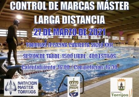 CONTROL DE MARCAS MÁSTER DE LARGA DISTANCIA