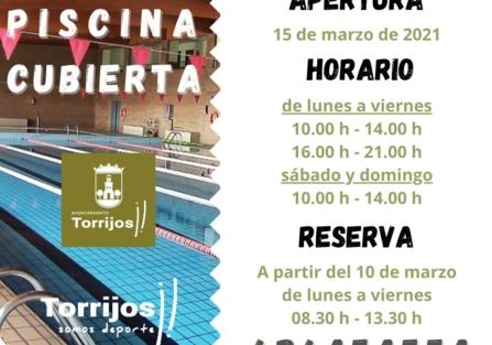 ¡Reserva ya tu entrada en la PISCINA CUBIERTA de #Torrijos!