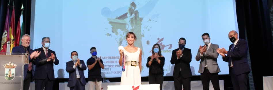LA GALA REGIONAL DE KARATE LLEVÓ A TORRIJOS A LA CAMPEONA OLÍMPICA, SANDRA SÁNCHEZ