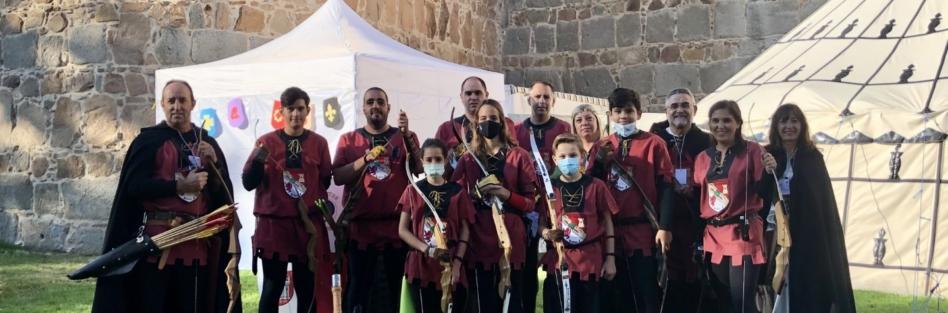 """EL CLUB DE ARQUEROS """"PEDRO I"""" PARTICIPA EN EL TORNEO DE LAS JORNADAS MEDIEVALES DE ÁVILA"""