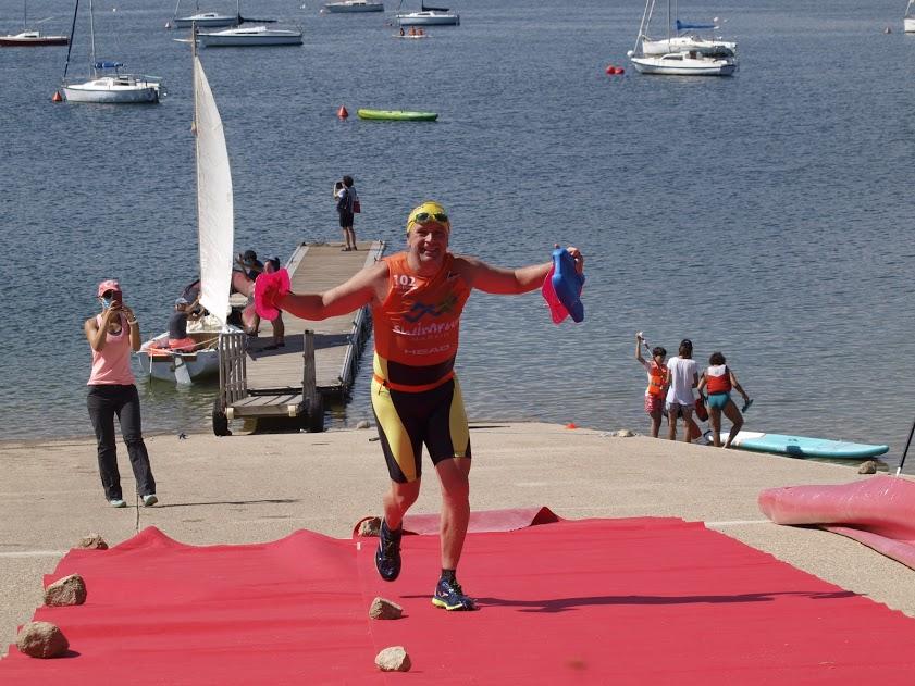 Alberto Lorenzo se proclama subcampeón en el SwimRun de Madrid