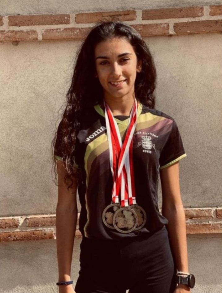 La atleta torrijeña Mariola Hernández, triple campeona de Castilla-La Mancha
